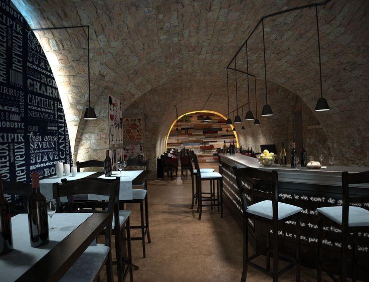 RESTAURANT Le Grand Gouzier - Ardèche (07) / Phase Concept // Création - Aménagement /// réalisé par CADYPSO (Architecture d'intérieur - Agencement Magasins - ERP - Particuliers)