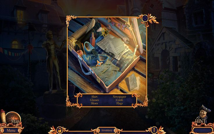First hidden object scene of the game. Universe of Royal Detective 3: Legend Of The Golem Collector's Edition game is full of peaceful surprises so you won't be bored during playing it, no matter are you raw recruit or old hand player.