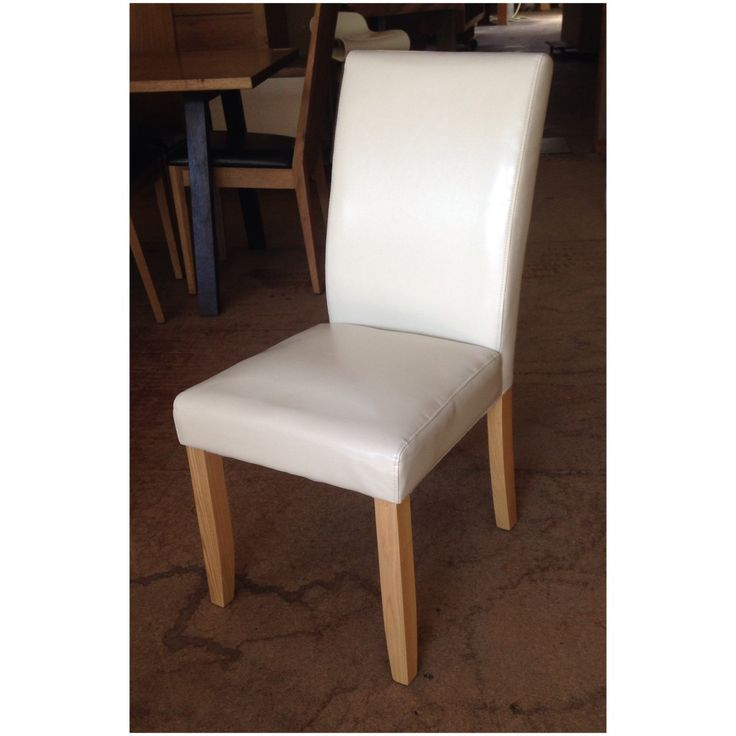 The low back leather bond dining chair for sale at Wildflower Furniture. Available in a range of colours.