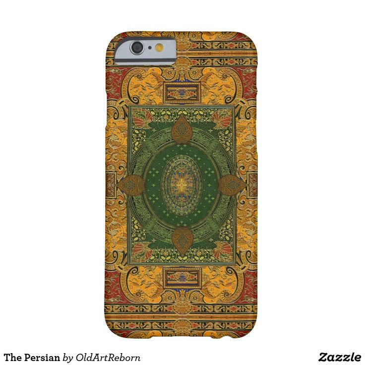 The Persian Barely There iPhone 6 Case