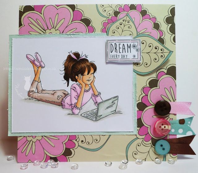195 best cards girly images on pinterest homemade cards handmade lotv jasmine laptop with set 100 teenage girl sentiments by katrina bufton bookmarktalkfo