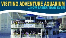 Take Nola to the Adventure Aquarium