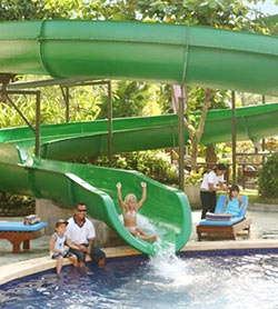 Bali Dynasty hotel, water slide! The BEST holiday hotel for kids! :)