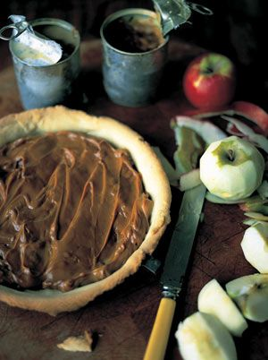 This is a fantastic dessert that I love to make for friends as they cant get enough of it. The combination of toffee and apples is a fairground classic but feel free to try it with pears, bananas, even strawberries.