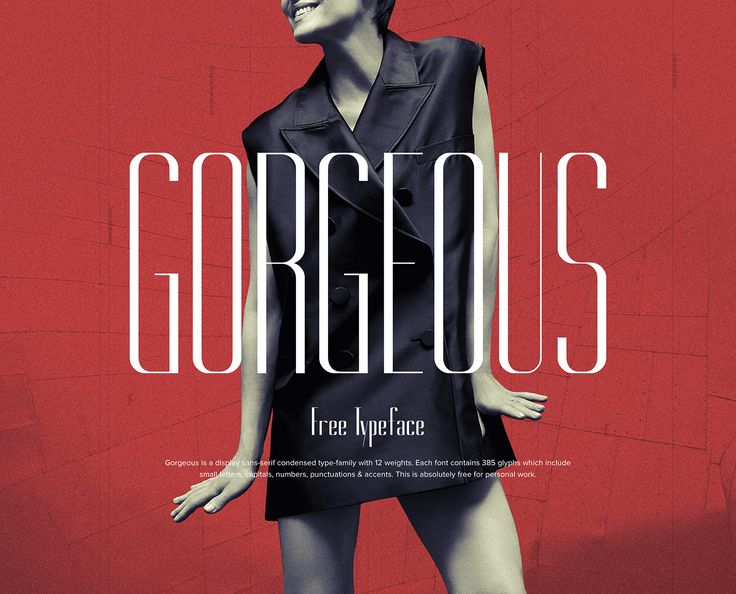 Fresh Free Font Of The Day : Gorgeous