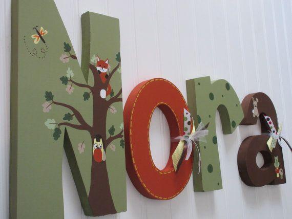 25+ Unique Hanging Letters Ideas On Pinterest