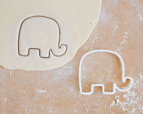 Elephant Cookie Cutter - Different Sizes Animal Baby Elephant - 3D Printed