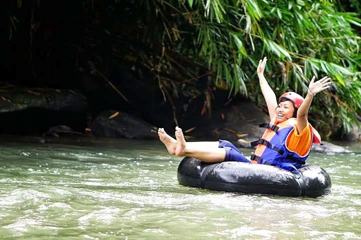Memacu Adrenalin di Geo Tubing Lava Bantal