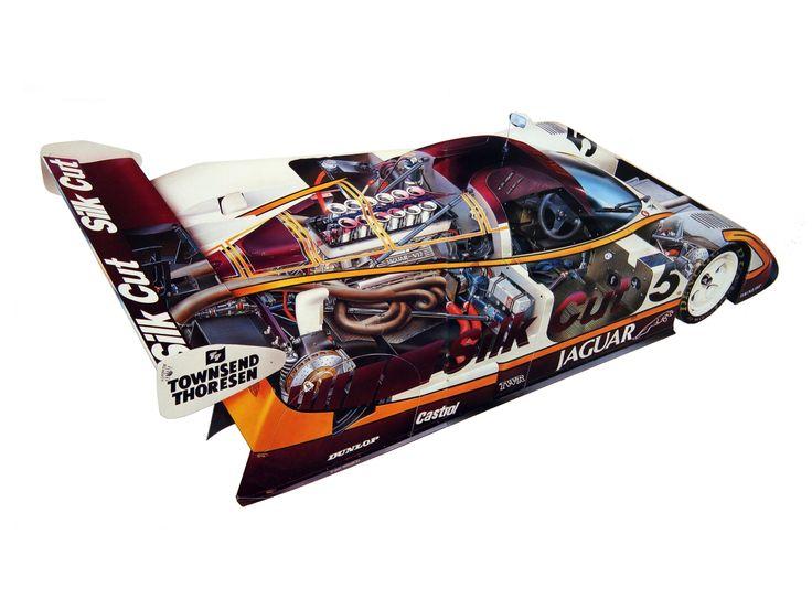 1988-1989 Jaguar XJR-9 - Illustration credited to Stewart ...