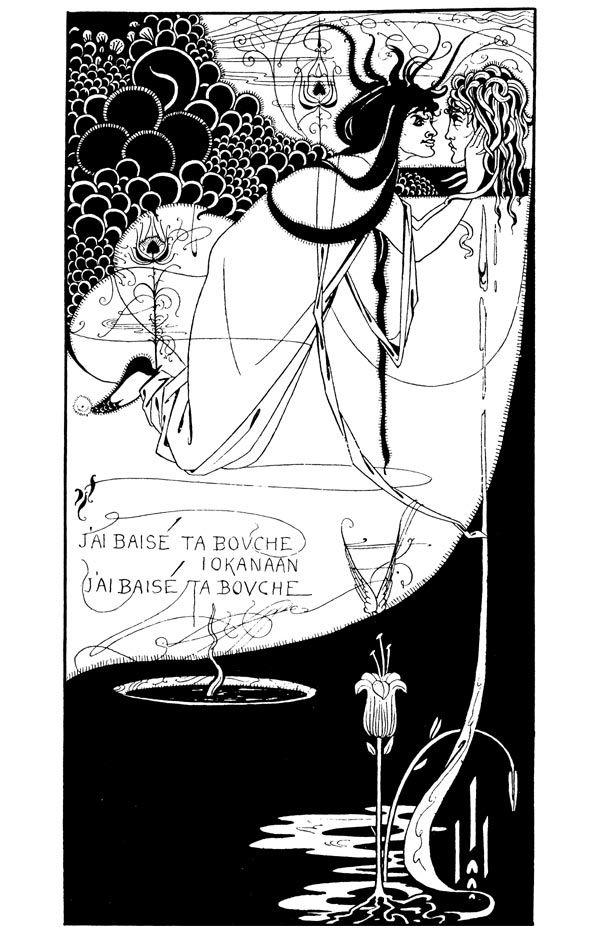 Aubre Beardsley, Salome. 1892. illustrator for OscarWilde.