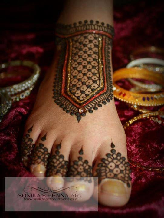 Mehendi Designs - WedMeGood #mehendi #footmehendi #mehendidesigns #wedmegood