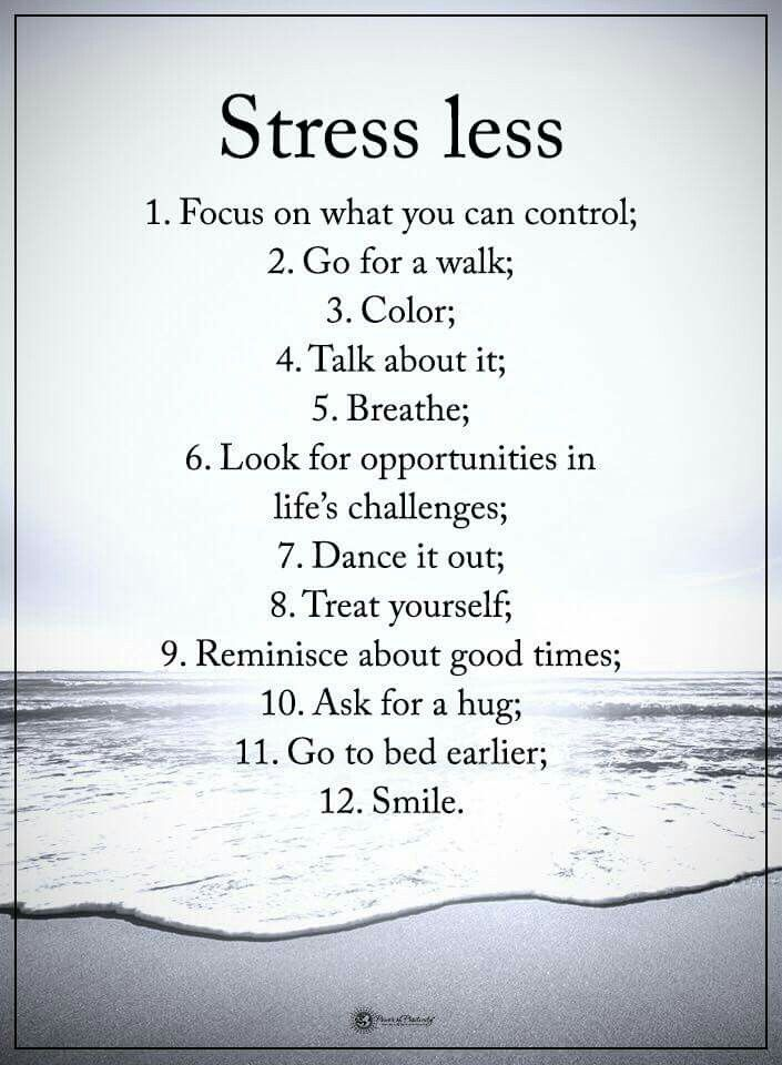 Stressless Quotes: The 25+ Best Stress Less Ideas On Pinterest