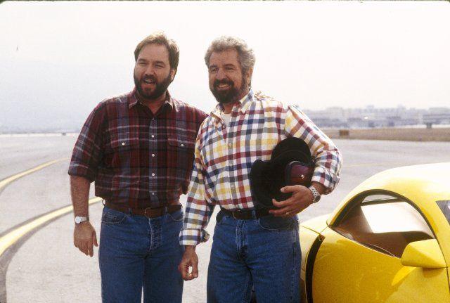 """Home Improvement"" The Great Race II (TV Episode 1994)  Al Borland   and Bob Villa"
