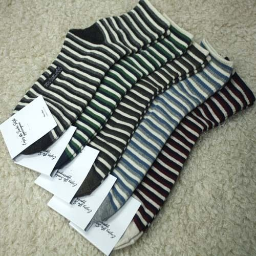 New unisex men women cotton 2016 Stripe Socks_5 options