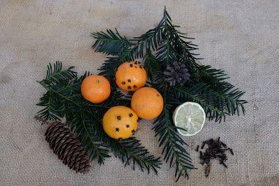 Fuchsgestreift: Winterlicher Raumduft Damit die ganze Wohnung nach Weihnachten duftet! Mit natürlichen Zutaten!