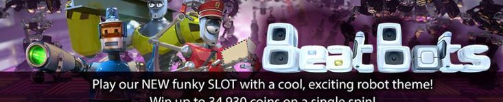 Beat Bots Video Slot $88 Free no deposit required!