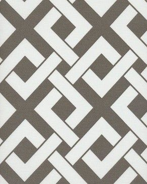 Boxed In - Outdoor Fabric, Brindle - contemporary - Outdoor Fabric - Barras Fabrics