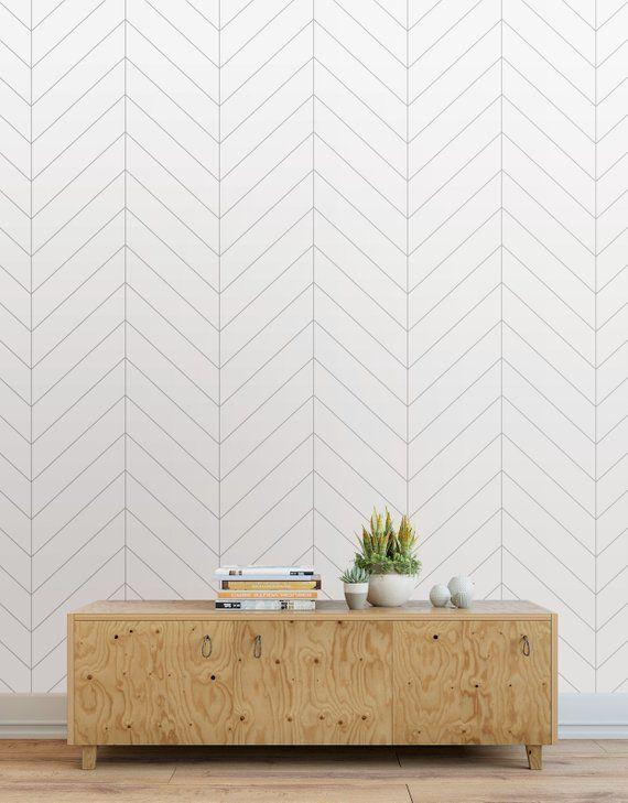 Herringbone Wallpaper Peel And Stick Tiles Modern Wallpaper Tiles Light Gray Wallpaper About O Herringbone Wallpaper Modern Wallpaper Feature Wall Wallpaper