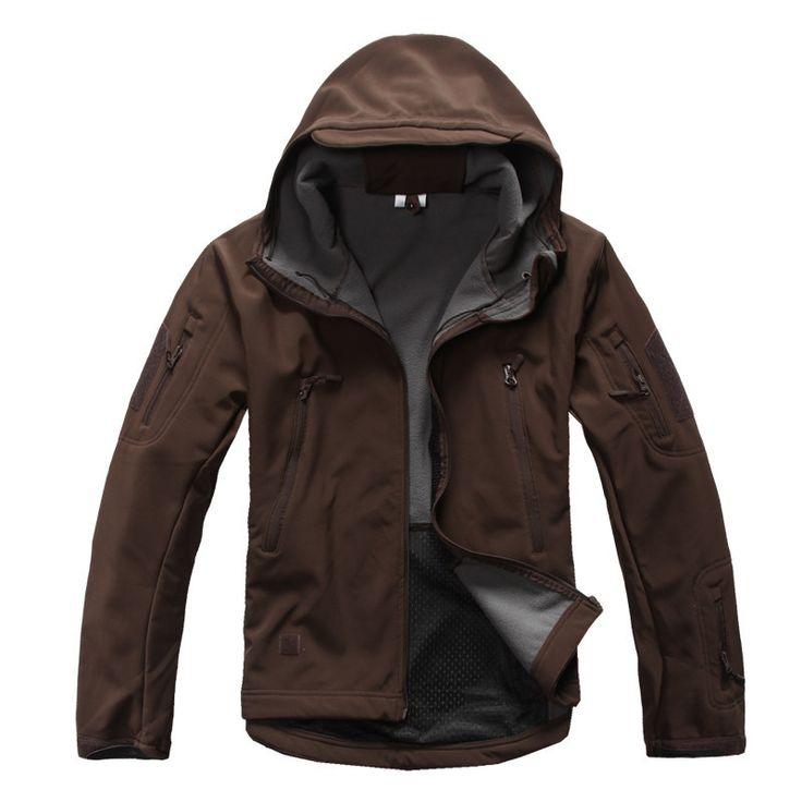Fleece Lined Waterproof Tactical Concealed Carry Jacket