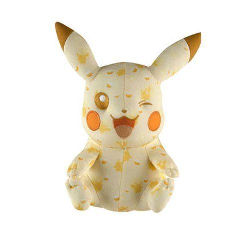 Tomy Pokemon 025 soft Plush Pikachu 20th Anniversary – Pokemon Toys: Soft toys