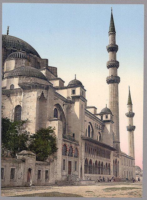 [Süleymaniye Camii (mosque), Constantinople, Turkey] (LOC)
