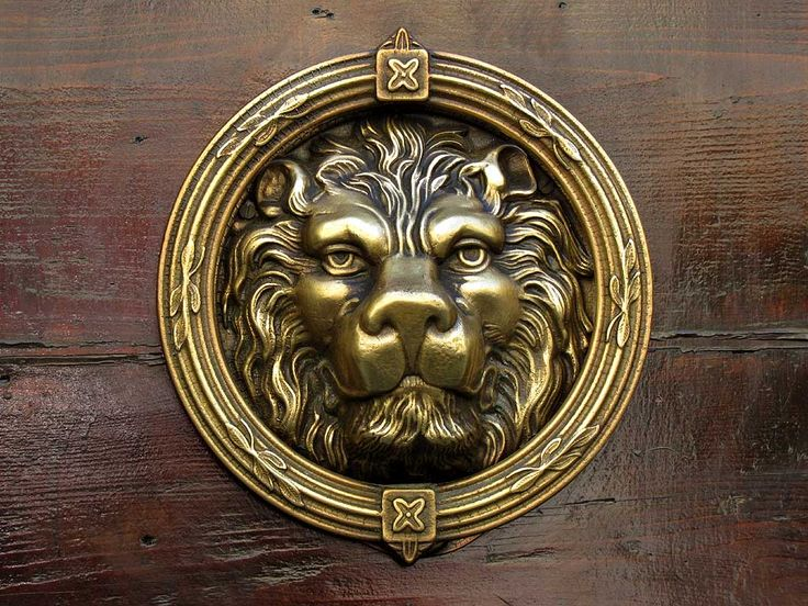 Door Knokers | Lion Head, Ornate Door Handle, Livorno. Door KnockersDoor  IdeasDoor ...
