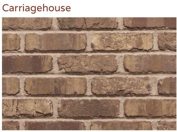 Carriage House Thin Brick Thin Brick Pinterest Thin Brick Carriage House And Bricks