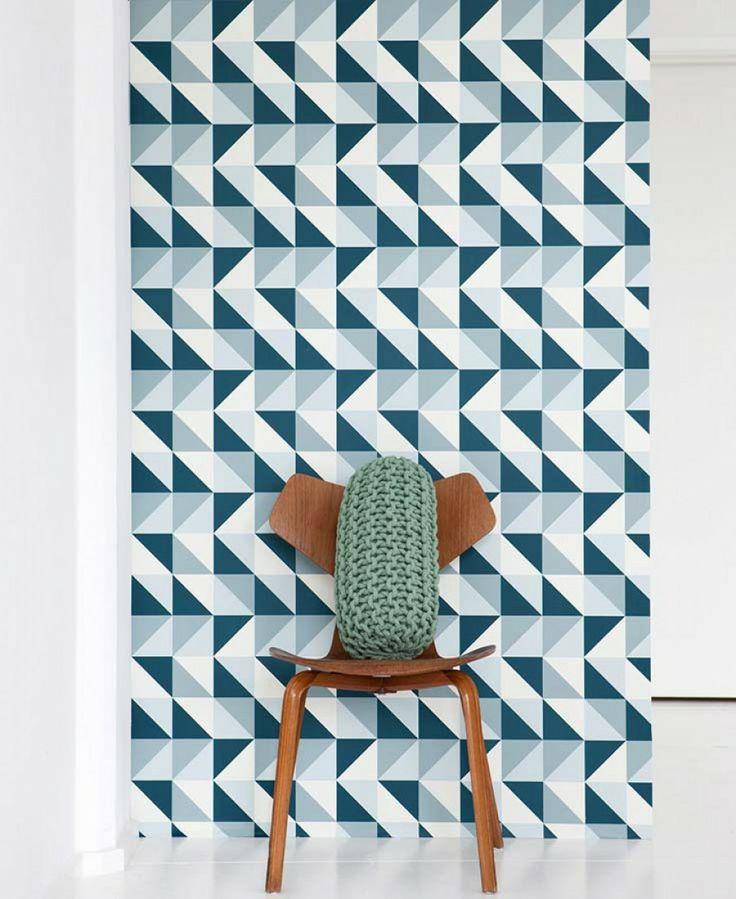 Remix   Papel de parede geométrico   Padrões de papel de parede   Papel de parede dos anos 70