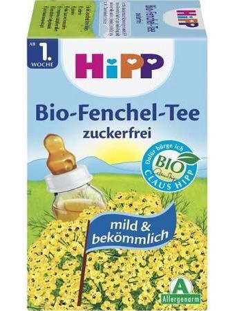 Fennel tea for colicky babies