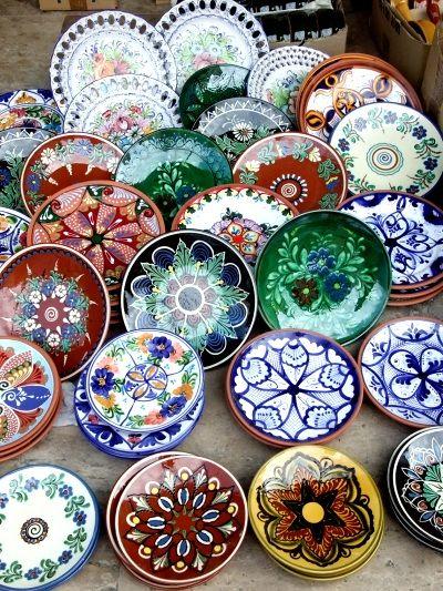青空陶器市 / Spanish ceramic plates **from Valencia, Spain**