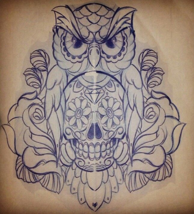 Tatu Baby (Ink Master finalist for season 2&3) designed this. Its so awesome. I love it!