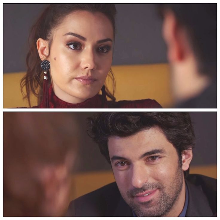 Selvi (Fahriye Evcen) and Dağhan (Engin Akyürek)