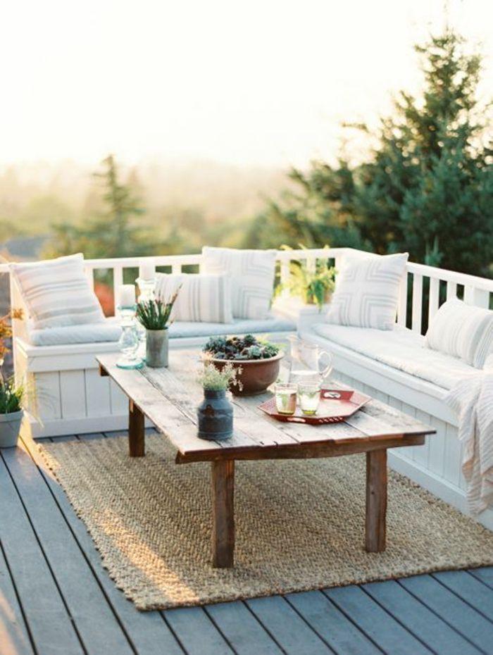 Les 25 meilleures idées concernant planchers de palette en bois ...