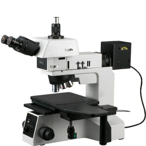 50X-800X Polarizing Darkfield Metallographic Metallurgical Microscope Extreme widefield Infinity Plan optical system offering five magnifications up to 800XProviding brightfield, darkfield, polarizing and metallurgical microscopic features25 degree inclined 360 degree rotatable gemel trinocular head with 100% prismatic rate  http://microscopes.mobi/product/50x-800x-polarizing-darkfield-metallographic-metallurgical-microscope/
