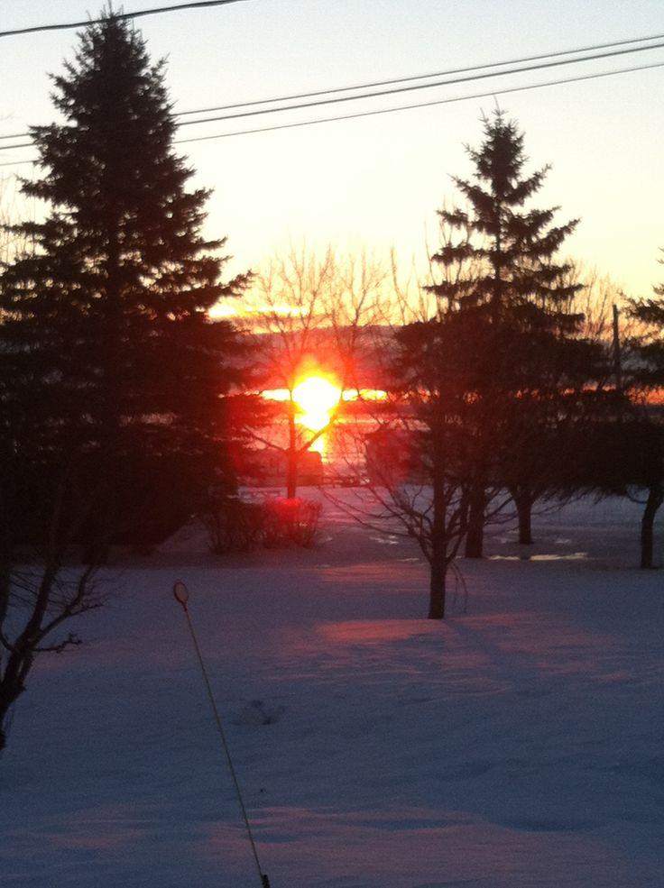 View from my porch:)