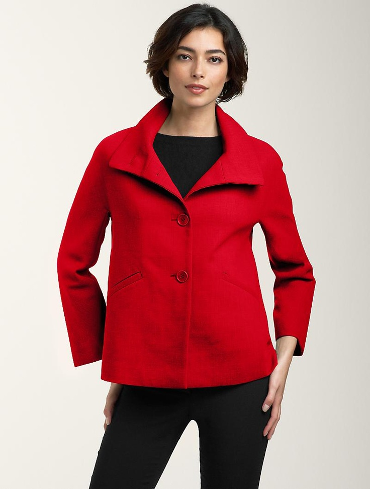 Love the red! There is just something about a red jacket that I go for.