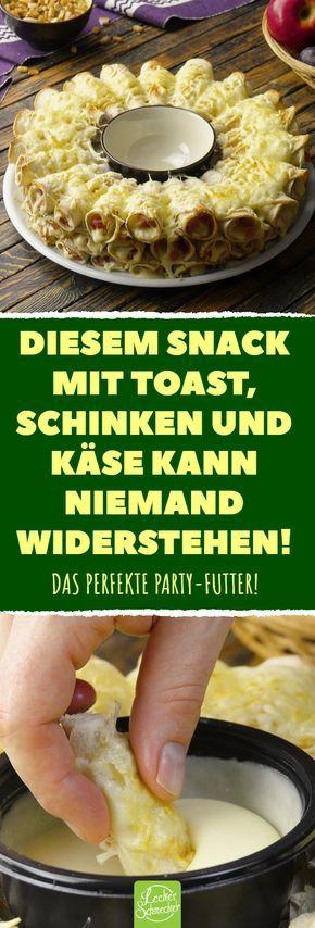 Diesem Snack mit Toast, Schinken und Käse kann niemand widerstehen! #rezepte #snack #toast #käse #schinken #bechamel – bella vita