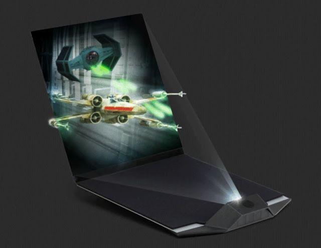 Tecnoneo: Holopantalla Star Wars 3D para visualizar escenas holográficas de una Galaxia muy muy lejana