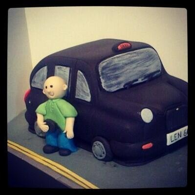 London Black Taxi Cake London Pinterest Cakes