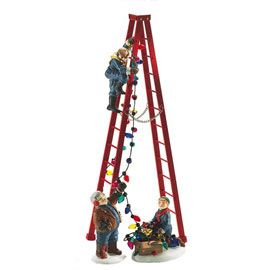 "Department 56: Products - ""Town Tree Trimmers"" - View Accessories  Wish list"