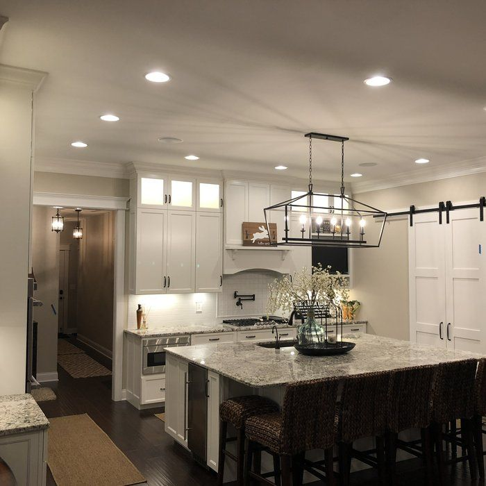 Carmen 6 Light Kitchen Island Linear Pendant Kitchen Remodel Small Tuscan Kitchen Kitchen Interior