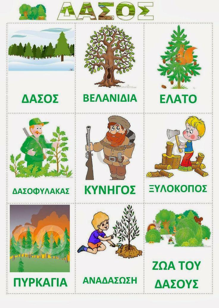 Νηπιαγωγός από τα πέντε...: δάσος