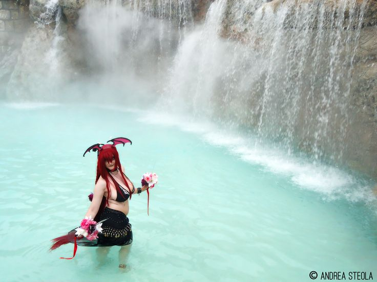 Character: Kairi Gloss II° Serie: Original Cosplay (versione pool party) Foto: Andrea Steola