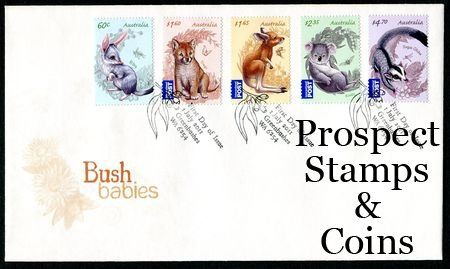 Stamps - Australian :: Australian First Day Covers :: 2011 - 1019 - Bush Babies…