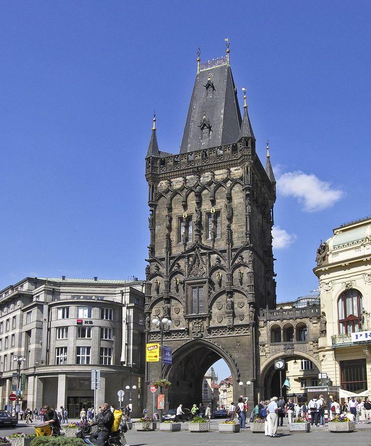 Brama Prochowa - Praga