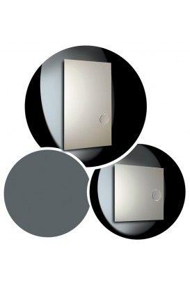 SLIM PLUS  Descripción: colección de espejos, canto recto.  Incluye espejo aumento.  Materiales: cristal 4 mm.  Acabados: natural.  Diseño: Eco.estudio.  Su Misura: Con la posibilidad de fabricar el espejo a la medida deseada.  Pásanos tu medida y te cotizamos precio. Estancias: baño, dormitorio, recibidor y salón.