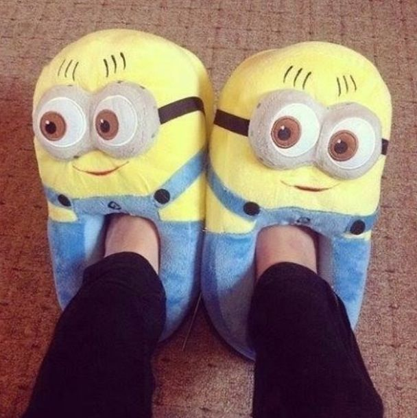 Minion slippers - These are a need!