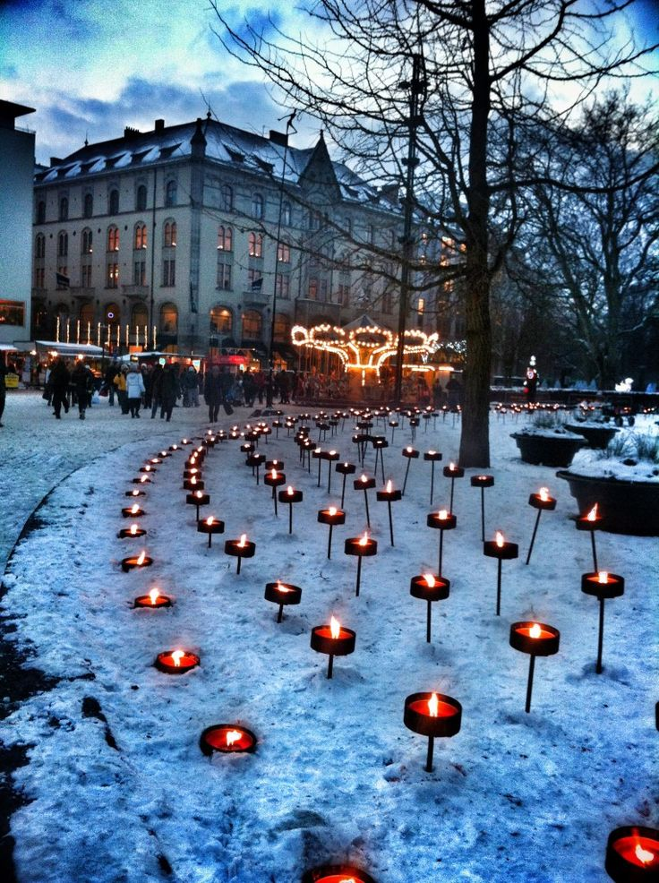 Christmas in MALMÖ, SWEDEN My father was born and raised in Malmo.... thoughts of what his young Christmas may have been like...
