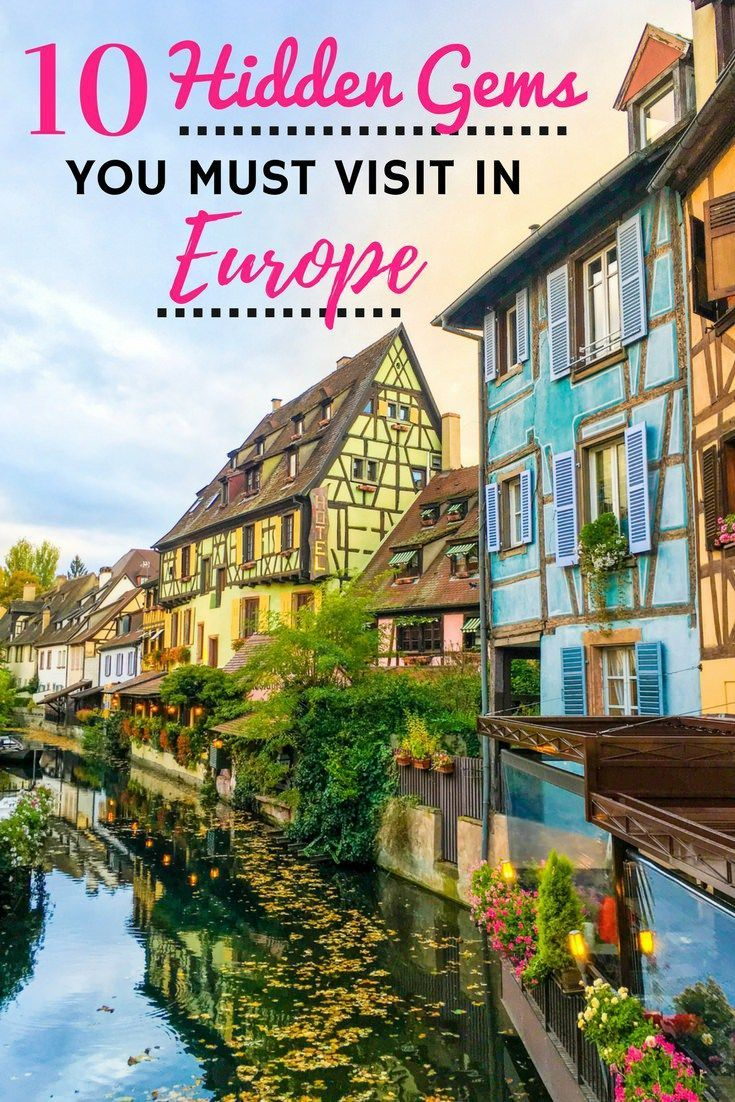 The hidden gems in Europe I'm about to share with you are some of my all-time favourite European destinations. A more intimate travel experience awaits!