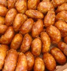 Gemblong - Deep Fried Sticky Rice Coated with Caramel #Indonesian #Traditional #Food